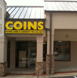 Larry Jackson Rare Coins store front