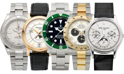 Buying Rolex and all other high-end watches
